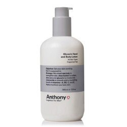 Anthony Logistics for Men Glycerin Hand and Body Lotion, 12 Ounce by Anthony Logistics For Men