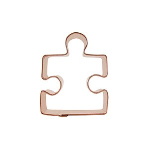Mini puzzle piece cookie cutter design 2 for Cookie cutter house plans