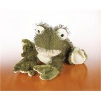 "2007 Webkinz Soft & Plush Green Frog 8"" #HM001 - 1"