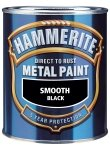 Hammerite Direct to Rust Metal Paint - Smooth SILVER