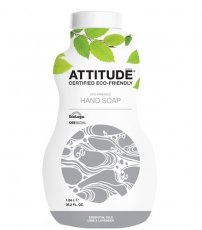 ATTITUDE, Eco-Friendly Hand Soap, Essential Oils Lime & Lavender, 35.2 fl oz (1.04 l)