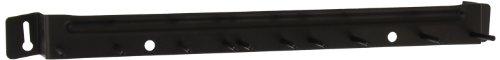 Black Sparta Spectrum Aluminum Brush Rack -- 12 per case