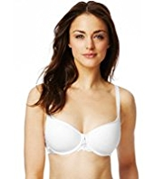 Lace Wing Balcony Underwired Non-Padded A-DD Bra