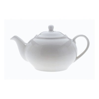 Maxwell And Williams 6-Cup Basics Teapot, White