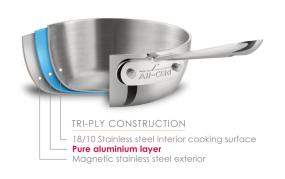 All-Clad Stainless Steel 8-Inch Nonstick Fry Pan