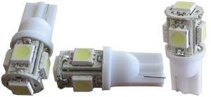 LED 1W 12V Cool White Omni Wedge Bulb T10 194 168 2825 W5W 501