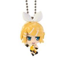 Vocaloid Hatsune Miku Swing Figure Keychain~Project Diva F Mascot~Part1~Kagamine Rin - 1