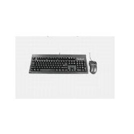KeyTronic KT800P2M10PK - Keyboard - PS/2 - 104 keys - mouse - black - bulk (pack of 10 )