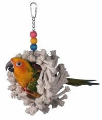 Super Bird Creations Mini Snuggle Ring 9in x 4in Small Bird Toy