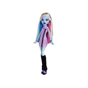 x monster high	doll abbey bominable