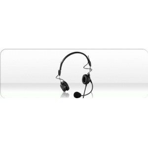 Telex Ph44R - Lightweight Dual-Sided Headset For Rts 4-Pin Male Connector