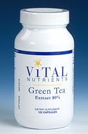Vital Nutrients Green Tea Extract 80% Catechins