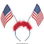 Patriotic Flag Head Bopper 1 Count