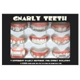 Accoutrements Gnarly Teeth, Set of 9 - 1
