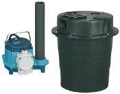 Little Giant WRS-6 Drainosaur Tank and Pump Combination System