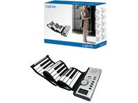 Logilink Silikon USB Midi Piano