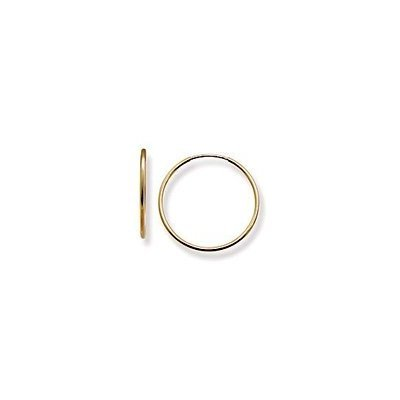 14k Yellow Gold Small (S) Size 16mm (5/8
