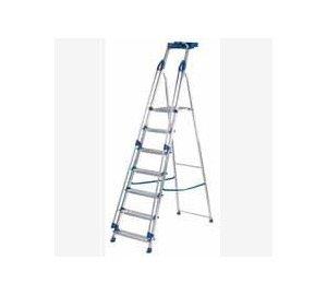 Blue Seal Aluminium Platform Stepladders 7 Tread (10507)