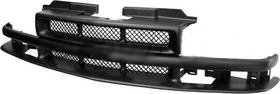 Chevy 98-04 S10 P/U Truck Front Grille Car BLK W/ZR2 Pkg/Basic Model New