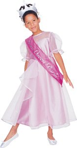 Barbie Prom Queen, Deluxe Costume (Small - Child Clothes Size 4-6)