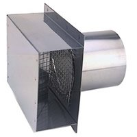 Z Flex Z Vent 4 Quot Termination Box With 4 Quot Sleeve Stainless