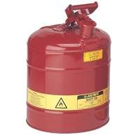 Justrite 10801 5 Gallon Steel Safety Can TYPE I
