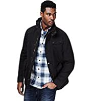North Coast Pure Cotton Waxed Belted Jacket