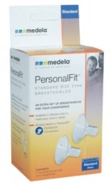 Medela PersonalFit Breastshield (2), Size: Standard or Medium (24mm), in Retail Packaging (Factory Sealed) #87073 - 1