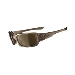 Oakley Fives Squared Sunglasses Brown Smoke / Dark Bronze