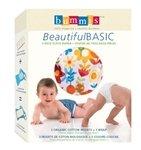 Bummis Beautiful Basic 2-Piece Cloth Diaper, Girl, Large front-917892