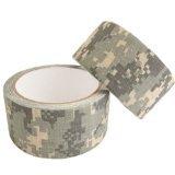 カモフラージュテープ(ガムテープ) 布素材 グリップテープ ACU 迷彩 伸縮性有 幅5㎝長さ5m×2本