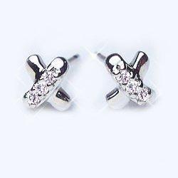 [ラグジュエリー][Lugejewelry]K18 0.1ctダイヤモンドkissピアス0.1カラット[SIクラスHカラーUP無色透明] 天然ダイヤモンド K18YG(イエローゴールド) [ジュエリー]【ラッピング対応】