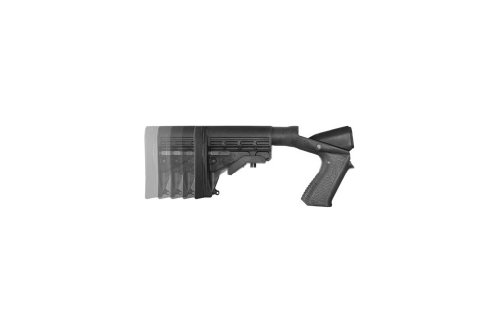 Blackhawk Knoxx SpecialOps Adjustable Shotgun Stock Rem 870 / Moss 12 and 20 - gauge, REM 870
