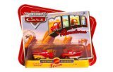 Disney CARS Mini Adventures Lightning McQueen's Team 2-Pack Lightning Ramone & Flo - 1