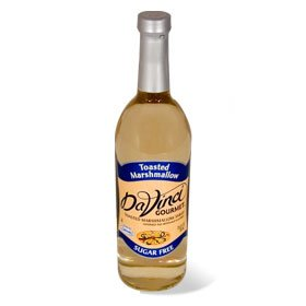 Da Vinci SUGAR FREE Toasted Marshmallow 750mL with Splenda