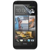 SAMRICK - Pack of 10 - HTC Desire 601 - Transparent Screen Protector/Film/Foil (3 Layer Technology) & Microfibre Cloth