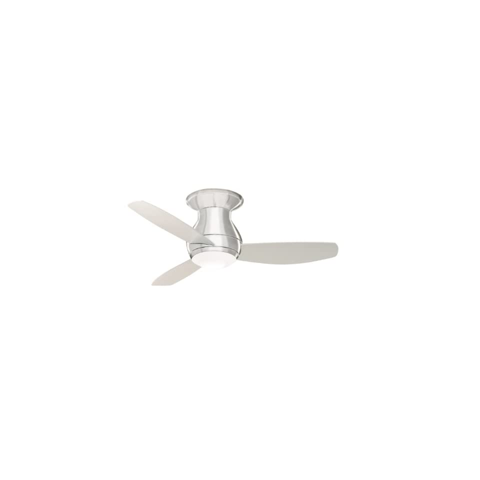 Steel Curva Sky 44 Indoor Ceiling Fan from the Curva Sky Collection