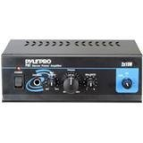 Pyle Home PTA1 Mini 2 x 15-Watt Stereo Power Amplifier from Pyle Home