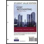 img - for Cost Accounting, Student Value Edition / MyAccountingLab with Pearson eText Access Card (14th Edition) book / textbook / text book