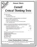 Cornell critical thinking test level c answers