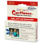 EarPlanes childrens ear plugs, disposable - 1 pair