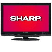 Sharp AQUOS LC26DV28UT 26-Inch LCD TV/DVD Combo, Black
