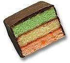 Sugar Free Rainbow Layer Cookie - by Best Cookies
