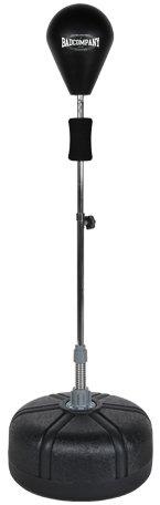 Pro Punching Stand / Standbox-Trainer höhenverstellbarer Boxstand inkl. PU Punchingball schwarz BCA-76