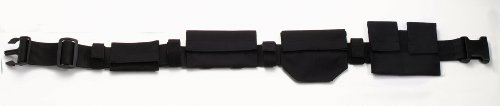 Deluxe Black Nylon Swat Belt