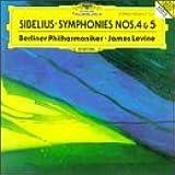 Sibelius-Syphonies 4 & 5-Orch Philharmonique Berlin-Levine