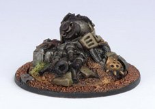 Privateer Press - Warmachine - Mercenary: Heavy Warjack Wreck Marker Model Kit