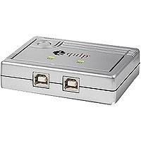 Equip Commutateur de partage USB 2.0 pour 2 PC Argent