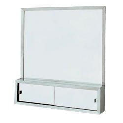 Jensen Vm224M Commodore 2-Door Medicine Cabinet, 24-Inch By 32-Inch, Stainless Steel