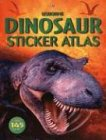 img - for Dinosaur Sticker Atlas book / textbook / text book